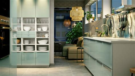 Ikea Küchen Design Fronten by Green Kitchen Inspiration Ideas Metcalfemakeovers