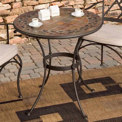 Outdoor Table And Chairs For Sale by Palazetto Mosaic Bistro Table Mosaic Patio Table
