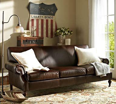 Pottery barn credit card rewards. Brooklyn Leather Sofa | Pottery Barn