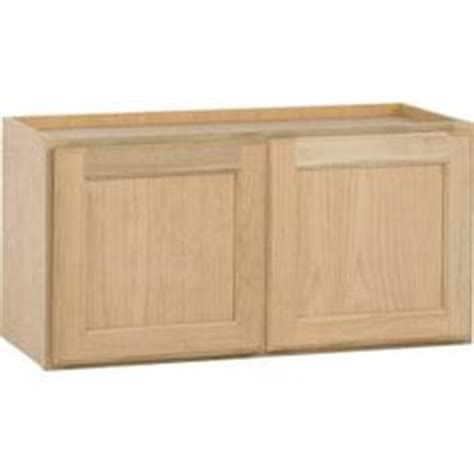home depot unfinished cabinets 20 54x24x12 in wall cabinet in unfinished oak w5424ohd at