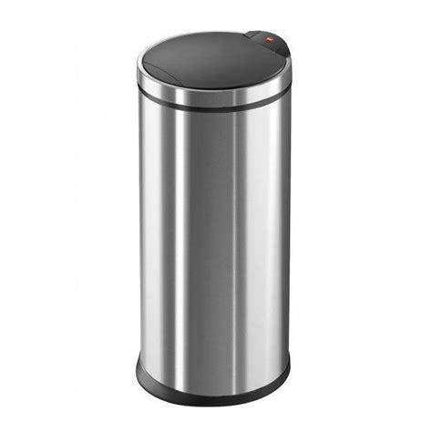 grande poubelle de cuisine poubelle de cuisine touchbin 20 l inox achat vente