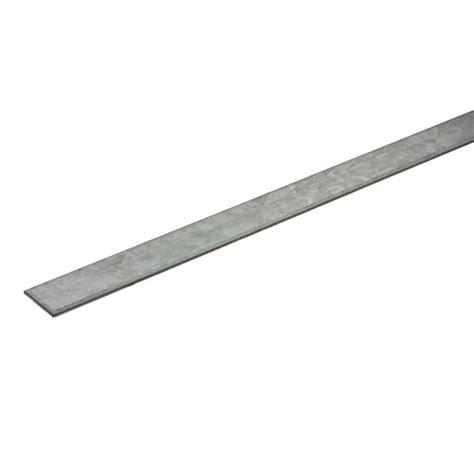everbilt 36 in x 3 4 in x 1 8 in zinc plated steel flat