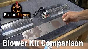 Fireplace Blower Kit Comparison