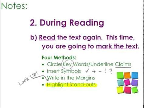 Critical Reading Strategies Youtube