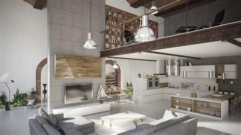 image de cuisine ouverte 50 salons et salles à manger de style loft ou industriel étonnants