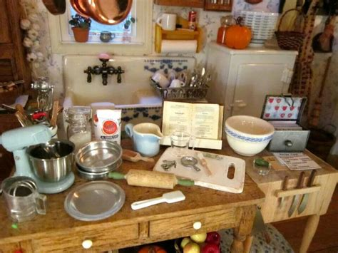 Kitchen Accessories For Your Dollhouse.