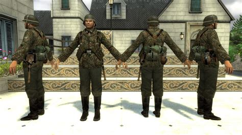 waffen ss soldiers counter strike source skin mods