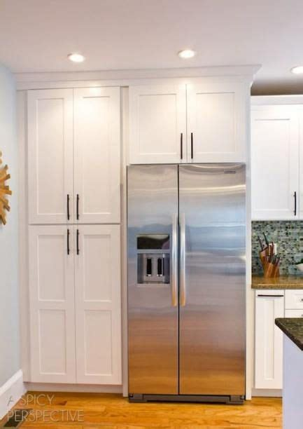 kitchen pantry cabinet   fridge   ideas