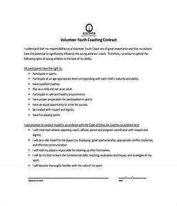 21 contract templates free word pdf documents download With coaching contracts templates