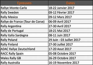Calendrier Rallycross 2016 Championnat Du Monde : calendrier du championnat du monde 2017 rallye054 ~ Medecine-chirurgie-esthetiques.com Avis de Voitures