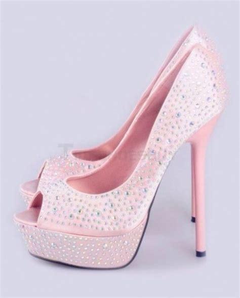 light pink heels sepatuwani taterbaru baby pink high heels images
