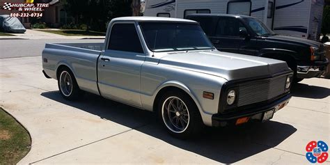 truck tool boxes chevrolet c 10 us mags rambler u111 wheels textured gray w