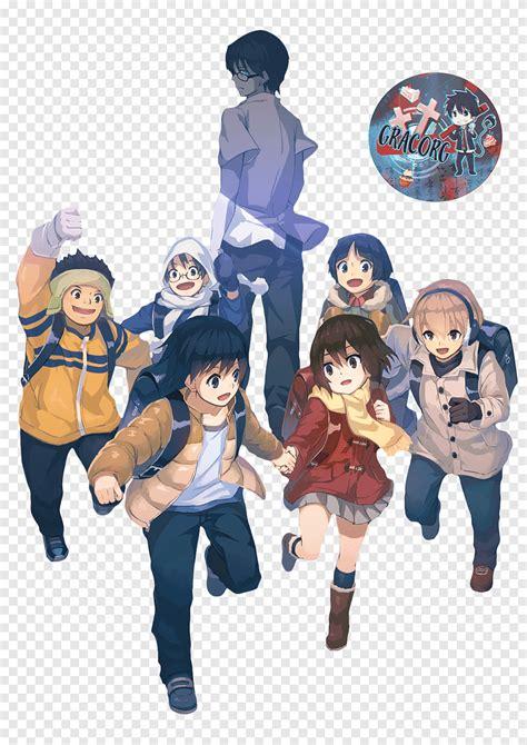 satoru fujinuma erased kayo hinazuki anime town