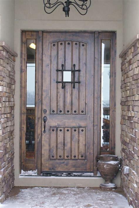 Best 25+ Rustic Front Doors Ideas On Pinterest