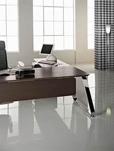 Bureau Direction Bois Design Italien ORLEANS Bureaux