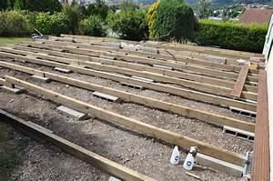 Terrasse Bois Sur Terre : poser une terrasse en bois sur terre evtod ~ Dailycaller-alerts.com Idées de Décoration