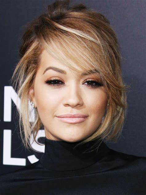 Bob Hairstyle With Side Fringe by Side Fringe Ora Hairstyles Hair Styles