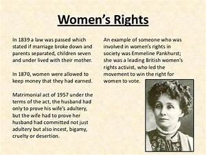 women and society essays