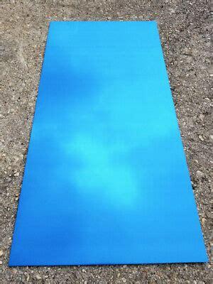 blue  color anodized aluminum sheet metal  gauge cnc plate ebay