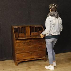 Schreibschrank Englisch Antike Mbel Sekretr Schreibtisch