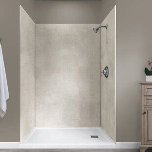 shower walls surrounds youll love   wayfairca