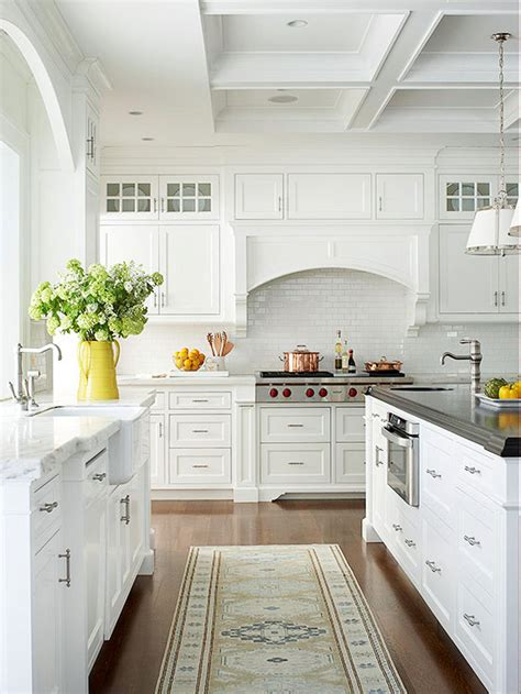 This Traditional, Cottagestyle Kitchen Is Spacious, Light