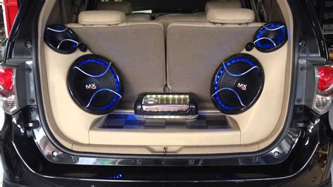 audio mobil fortuner sq loud innovation car audio jakarta youtube