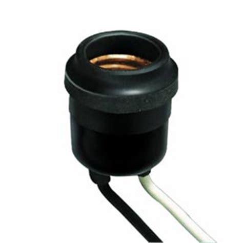 leviton 875 55 rubber outdoor light bulb socket pig