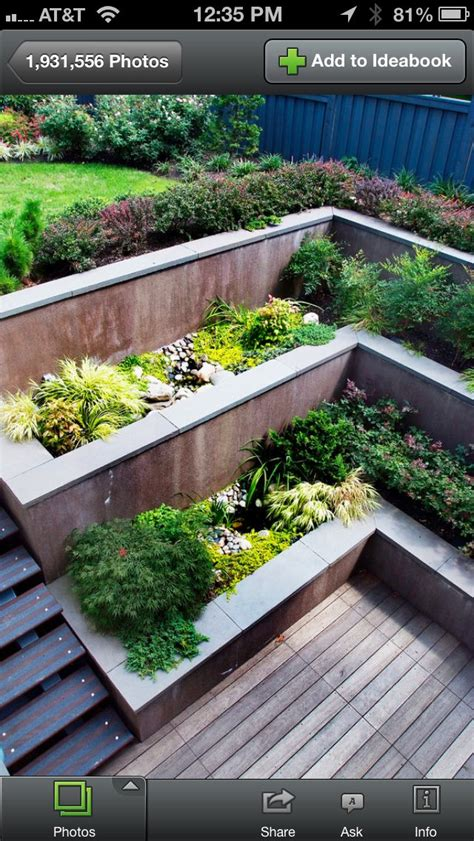 retaining wall plants pictures redo retaining wall planters 52m planter beds containers pinte