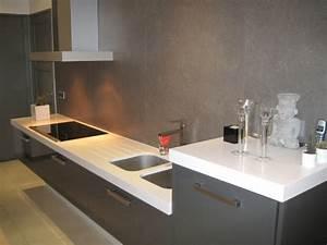 cuisine plan de travail quartz With plan de travail de cuisine en quartz