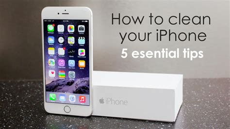 cleaner for iphone how to clean your iphone 5 essential tips