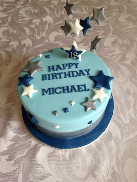 30 Best Images About 18th Birthday Cakes For Boys On