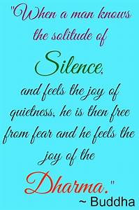 Silence and Spi... Silence Golden Quotes