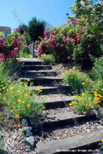 Railroad Ties Landscaping Ideas for Stairs
