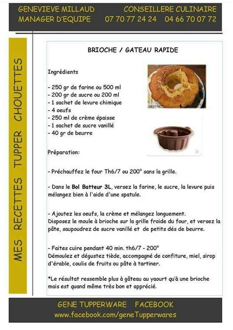 livre cuisine saine brioche gateau rapide tupperware pains brioches et