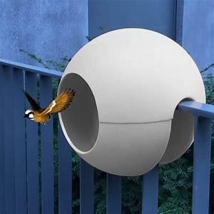 Vogelhaus Für Balkongeländer : birdball das balkon vogelhaus futterhaus youbrain ~ Markanthonyermac.com Haus und Dekorationen