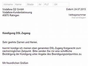 Kabel Deutschland Mobile Rechnung : vodafone dsl k ndigen vorlage download chip ~ Themetempest.com Abrechnung