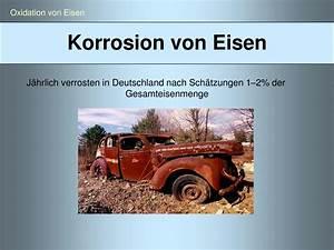 Korrosion Von Eisen : ppt eisen experimentalvortrag von siegrid heinlein wintersemester 07 08 powerpoint ~ A.2002-acura-tl-radio.info Haus und Dekorationen