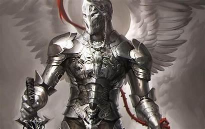 Knight Armor Robot Fantasy Angel Medieval Knights