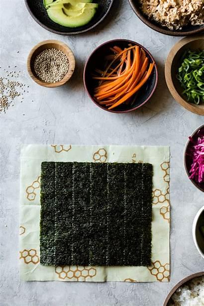 Sushi Vegan Spicy Tofu Burritos Rice Snack