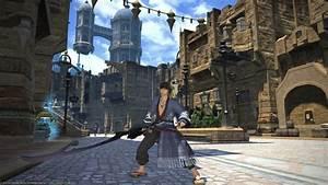 Final Fantasy 14 Heavy ArmoredMelee DPS Samurai