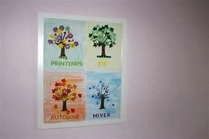 maman nougatine diy les arbres des saisons maman nougatine With nice commentaire preparer une couleur de peinture 1 activites automne