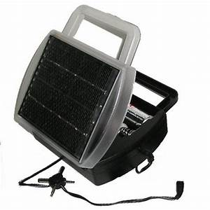 New Solar Powered Battery Charger Charges 4 D C Aa And Aaa