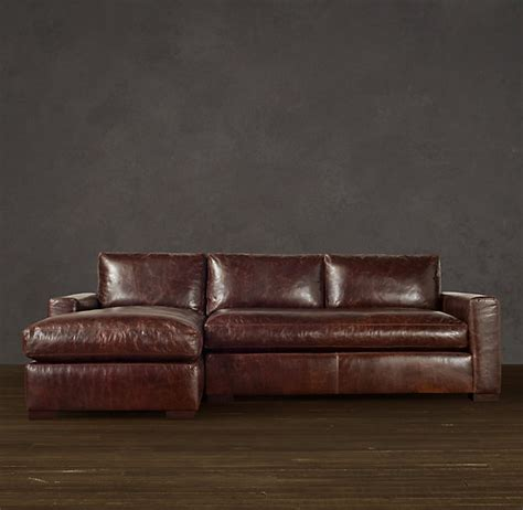 maxwell leather sofa chaise sectionals furniture