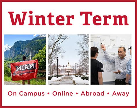winter term miami university
