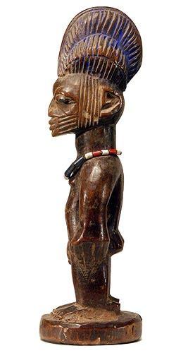 Yoruba Ibeji Twin Figure 16, Nigeria