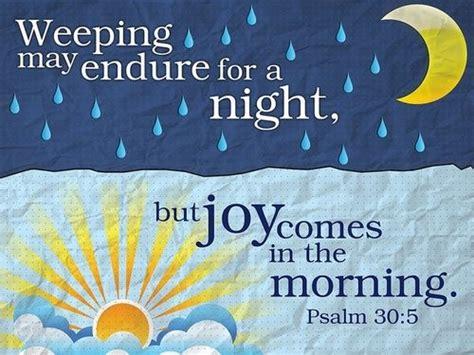 psalm   weeping  endure   night  joy