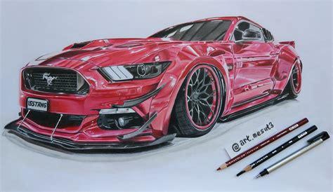 Newest Model by Ford Mustang Gt Drawing Ford Fan 41707529 Fanpop