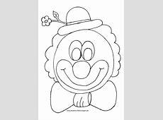 Ausmalbilder Zirkus & Clown Nadines Ausmalbilder