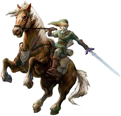 The Legend Of Zelda Images Link And Epona Hd Wallpaper And